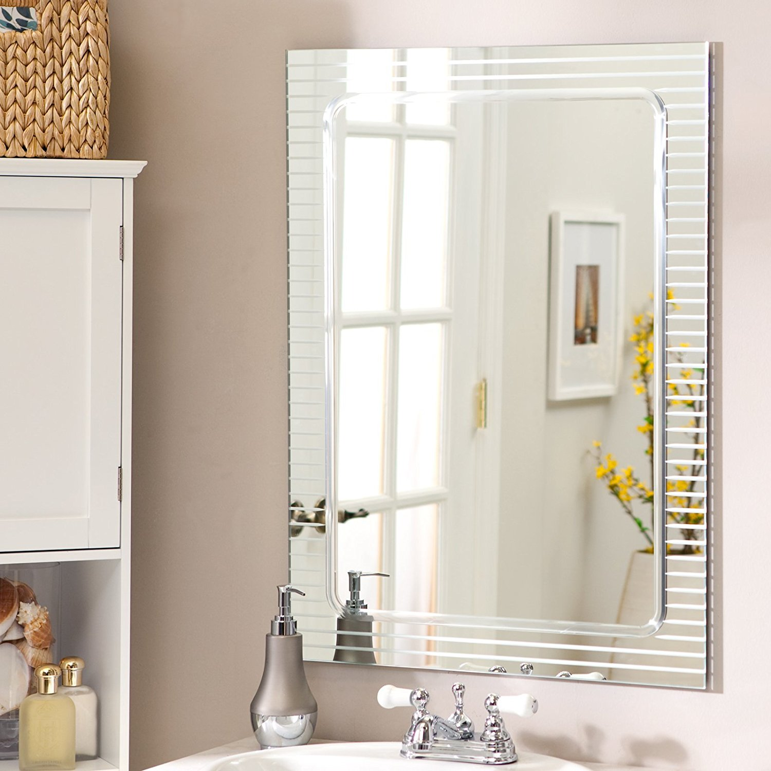 Frameless Mirrors | The Mirror Guide